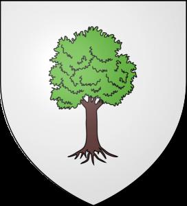 Le blason de la ville Le Caylar sur le Larzac dans l'Hérault Languedoc Roussillon